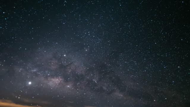 night stars milky way - constellation stock videos & royalty-free footage