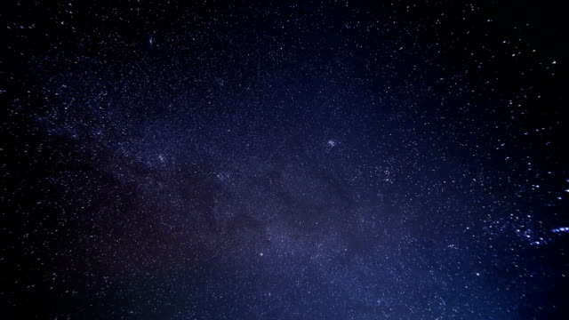 night stars time lapse with meteor shower - galaxy stock videos & royalty-free footage
