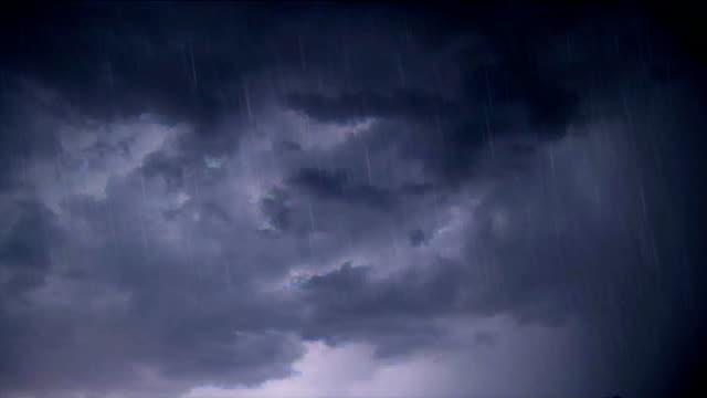night thunderstorm - lightning stock videos & royalty-free footage