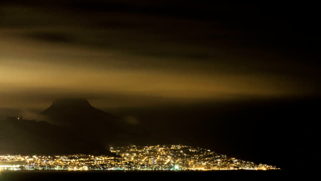 Night Time-lapse Cape Town