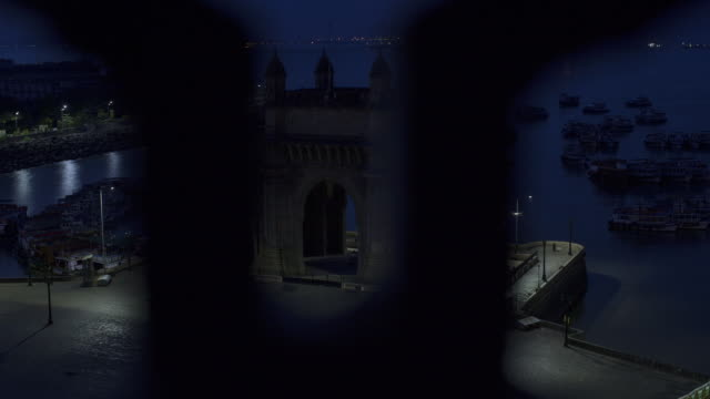 TL, HA, DS Night to day view of the Gateway to India / Mumbai, India