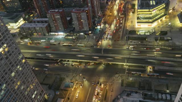 T/L MS HA Night Traffic of Beijing