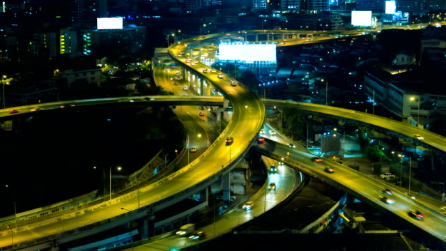 night traffic time-lapse. - letter x stock videos & royalty-free footage