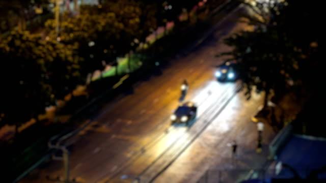 vídeos y material grabado en eventos de stock de noche de tráfico - menos de diez segundos