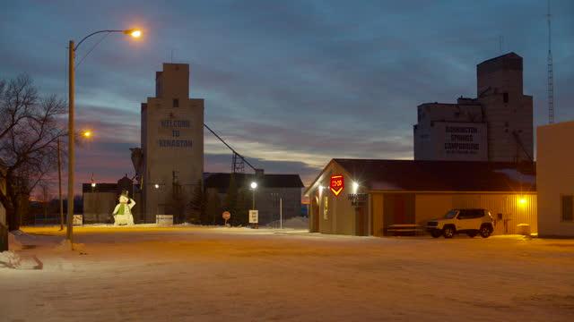 night view of  kenaston - rural scene stock videos & royalty-free footage
