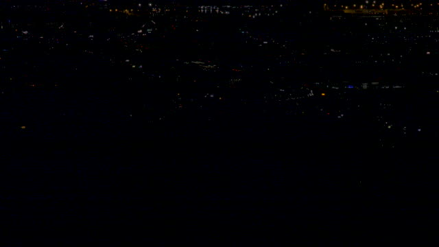 night view of oakland and emeryville during pg&e power outage - emeryville stock videos & royalty-free footage