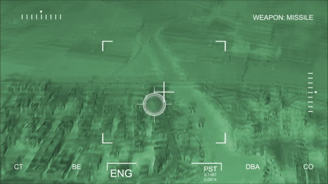 night vision aerial bombardment - night vision stock videos and b-roll footage