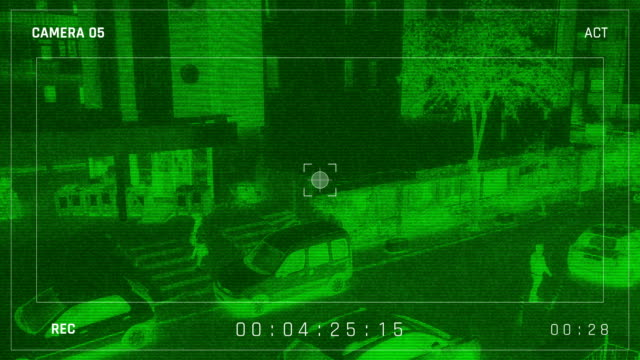 night vision security camera - night vision stock videos and b-roll footage
