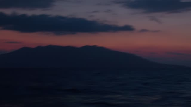 Night yachting at Aegean Sea