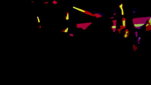 nachtclub dancers - künstlerische darbietungen stock-videos und b-roll-filmmaterial