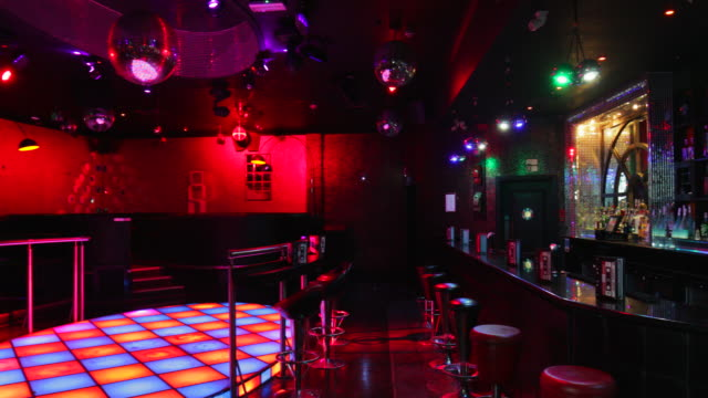 nightclub interior - nightclub stock videos & royalty-free footage