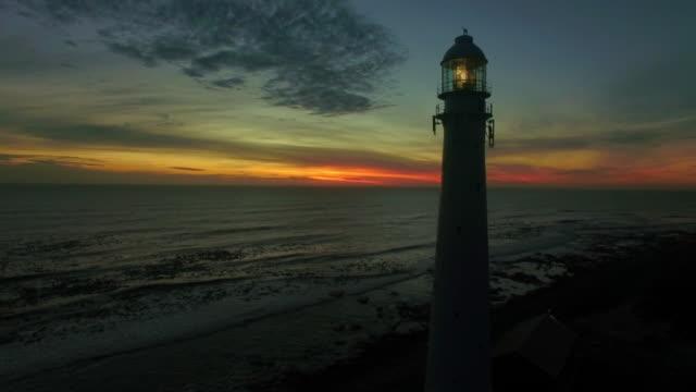 Nightfall along the coast
