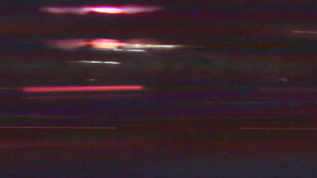 nighttime streetlights streak by. - tail light stock videos & royalty-free footage