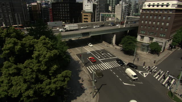 nihonbashi bridge, tokyo, japan - 2014 stock videos and b-roll footage