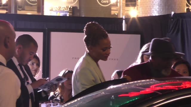 nika king outside the westworld season 3 premiere at tcl chinese theatre in hollywood in celebrity sightings in los angeles - mann theaters stock videos & royalty-free footage