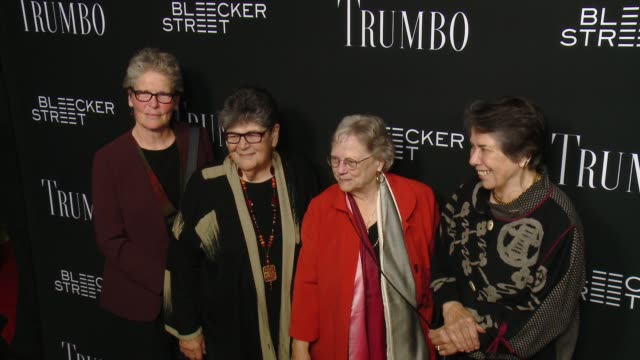 niki trumbo at the trumbo los angeles premiere at the academy of motion picture arts and sciences on october 27 2015 in beverly hills california - academy of motion picture arts and sciences stock-videos und b-roll-filmmaterial
