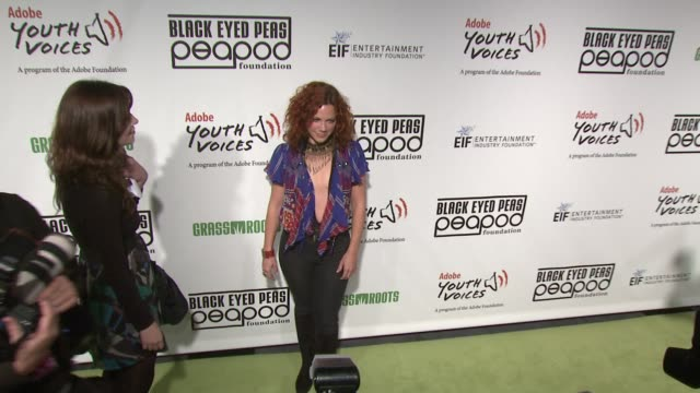 nikka costa at the 5th annual black eyed peas peapod foundation benefit concert at los angeles ca - benefit concert stock videos & royalty-free footage