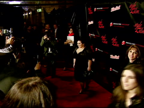 nikki blonsky at the rachel hunter and slim-fast host style your slim event with special guest tim gunn and dj macy gray at boulevard3 in hollywood,... - レイチェル ハンター点の映像素材/bロール