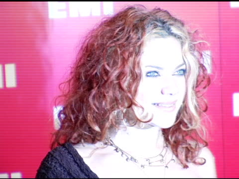 nikki costa at the emi post-grammy awards bash at the beverly hilton in beverly hills, california on february 13, 2005. - emi grammy party stock videos & royalty-free footage