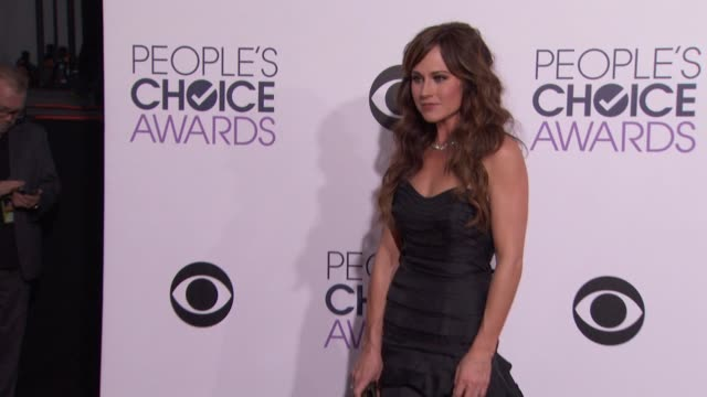 Nikki Deloach at People's Choice Awards 2015 in Los Angeles CA
