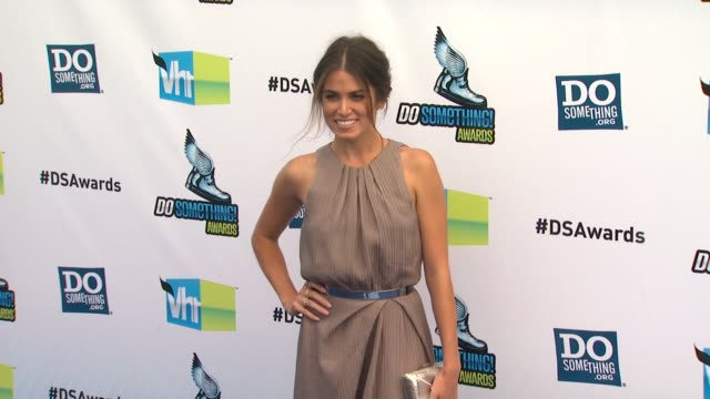 nikki reed at 2012 do something awards on 8/19/12 in santa monica ca - nikki reed stock videos and b-roll footage