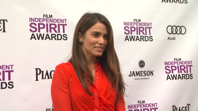 nikki reed at 2012 film independent filmmaker grant and spirit award nominees brunch on 1/14/2012 in west hollywood, ca. - independent feature project stock videos & royalty-free footage
