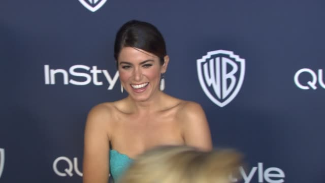 vídeos de stock, filmes e b-roll de nikki reed at 2014 instyle and warner bros. 71st annual golden globe awards post-party at the beverly hilton hotel on in beverly hills, california. - the beverly hilton hotel