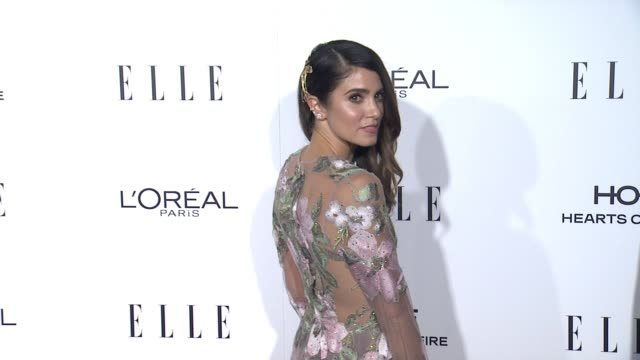 nikki reed at 23rd annual elle women in hollywood celebration at four seasons hotel los angeles at beverly hills on october 24 2016 in los angeles... - nikki reed stock videos and b-roll footage