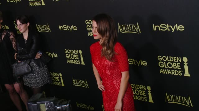 nikki reed at hfpa and instyle celebrate the 2014 golden globe awards season at fig olive melrose place on november 20 2014 in west hollywood... - nikki reed stock videos and b-roll footage