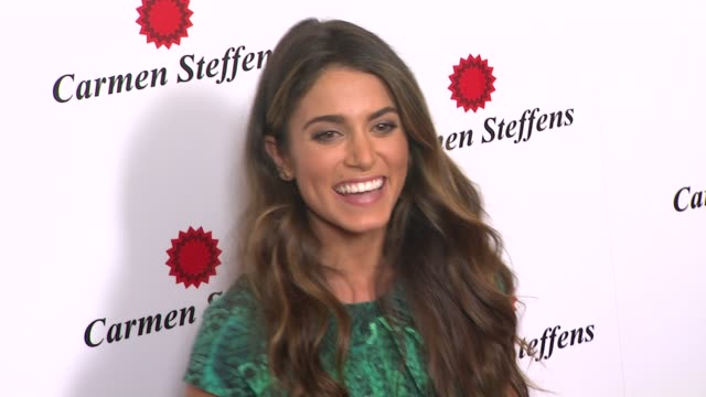 nikki reed at hot brazilian fashion brand carmen steffens opens u.s. flagship store on 8/3/12 in los angeles, ca - nikki reed stock videos & royalty-free footage