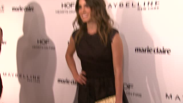 nikki reed at marie claire celebrates may cover stars in los angeles, ca 4/8/14 - nikki reed stock videos & royalty-free footage