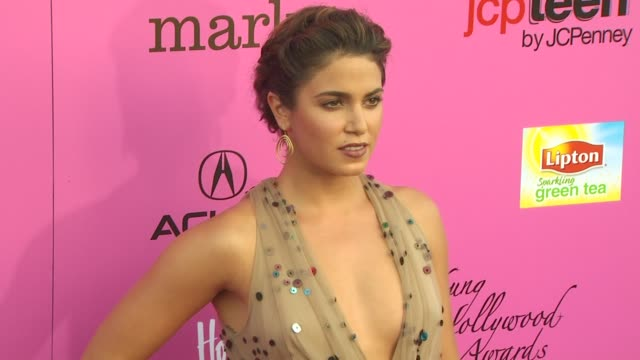 nikki reed at the 12th annual young hollywood awards at los angeles ca. - nikki reed stock videos & royalty-free footage
