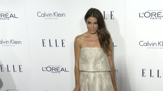 nikki reed at the 2015 elle women in hollywood awards at four seasons hotel los angeles at beverly hills on october 19 2015 in los angeles california - nikki reed stock videos and b-roll footage