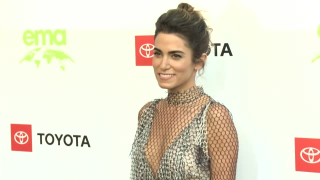 nikki reed at the 29th annual environmental media awards at montage beverly hills on may 30, 2019 in beverly hills, california. - environmental media awards stock-videos und b-roll-filmmaterial