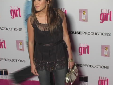 nikki reed at the elle girls first ever hollywood prom at hollywood athletic club in hollywood ca - nikki reed stock videos and b-roll footage