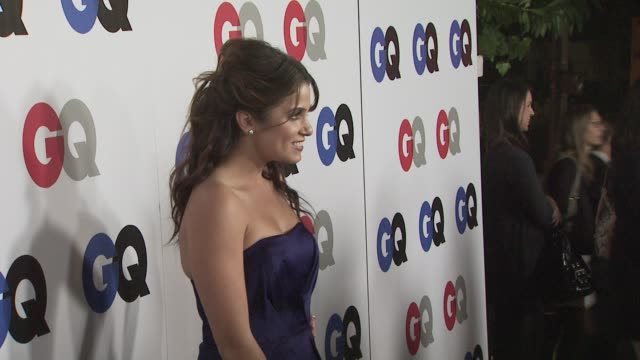 nikki reed at the gq men of the year awards at los angeles ca. - nikki reed stock videos & royalty-free footage