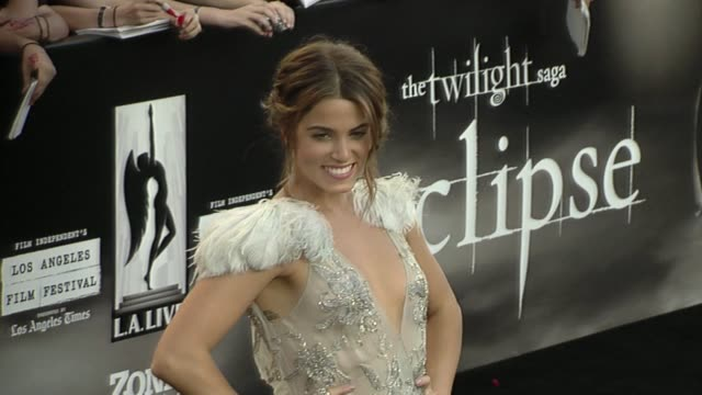 Nikki Reed at the 'The Twilight Saga Eclipse' Premiere at Los Angeles CA