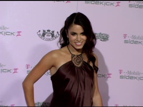 nikki reed at the tmobile sidekick ii juicy couture edition and tmobile sidekick ii mister cartoon edition debut at tmobile sidekick ii city in... - nikki reed stock videos and b-roll footage
