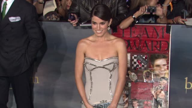 breaking dawn part two los angeles premiere on 11/12/12 in los angeles ca - nikki reed stock videos and b-roll footage