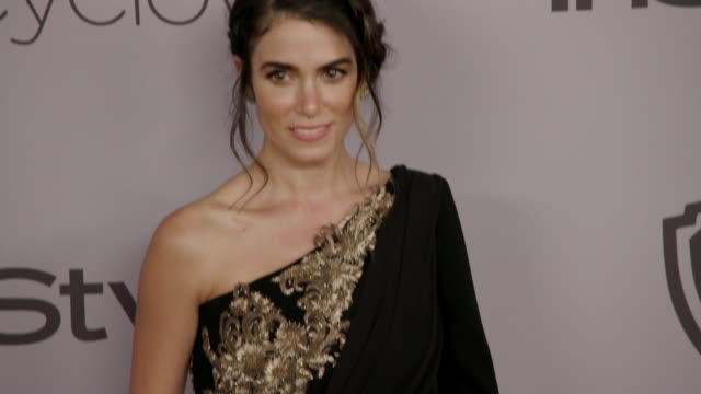 nikki reed at the warner bros. pictures and instyle host 19th annual post-golden globes party at the beverly hilton hotel on january 7, 2018 in... - nikki reed stock videos & royalty-free footage