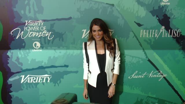 vídeos de stock, filmes e b-roll de nikki reed at variety's 2014 power of women luncheon at four seasons hotel los angeles on october 10, 2014 in beverly hills, california. - nikki reed