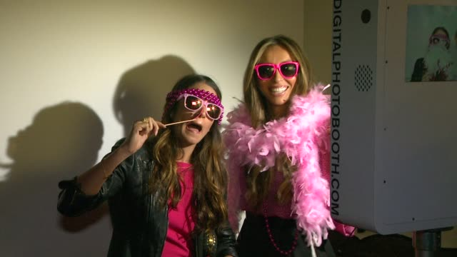nikki reed, giuliana rancic at loft & giuliana rancic celebrate the launch of live in pink in support of the breast cancer research foundation on... - nikki reed stock videos & royalty-free footage