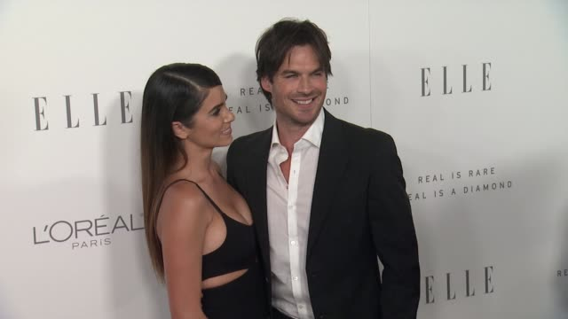 Nikki Reed Ian Somerhalder at the 24th Annual ELLE Women In Hollywood Awards on October 16 2017 in Los Angeles California