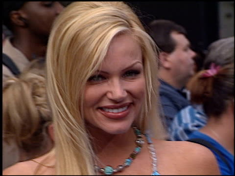 nikki schieler ziering at the american idol finale at the kodak theatre in hollywood california on september 4 2002 - american idol stock videos and b-roll footage