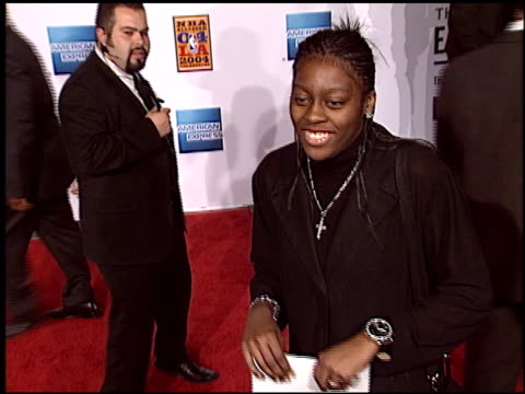 nikki teasley at the magic johnson tribute at the shrine auditorium in los angeles, california on february 12, 2004. - shrine auditorium stock videos & royalty-free footage