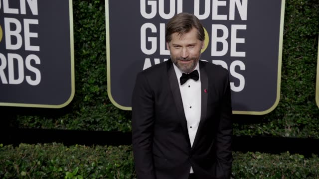 Nikolaj CosterWaldau at the 75th Annual Golden Globe Awards at The Beverly Hilton Hotel on January 07 2018 in Beverly Hills California