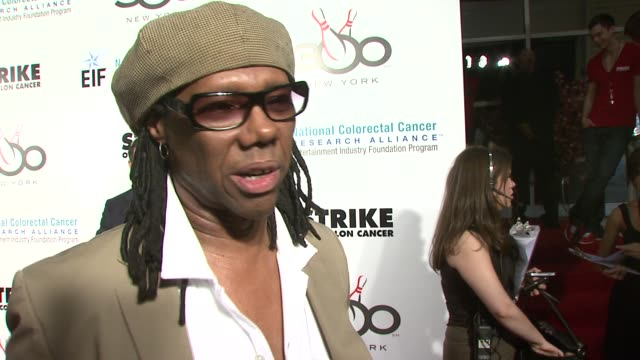 nile rogers on getting tested for colon cancer being inspired by watching katie couric's colonoscopy on television and the virtues of getting tested... - colon stock videos and b-roll footage