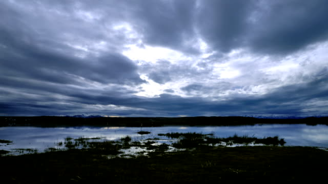 laguna nimez en calafate timelapse - caulk gun stock videos and b-roll footage