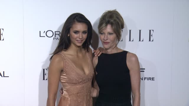 Nina Dobrev and Robbie Myers at 23rd Annual Elle Women In Hollywood Celebration at Four Seasons Hotel Los Angeles at Beverly Hills on October 24 2016...