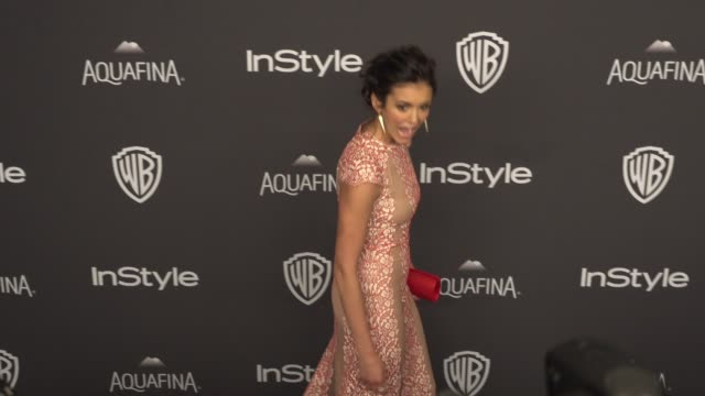 Nina Dobrev at 17th Annual InStyle And Warner Bros Pictures Golden Globe AfterParty at The Beverly Hilton Hotel on January 10 2016 in Beverly Hills...